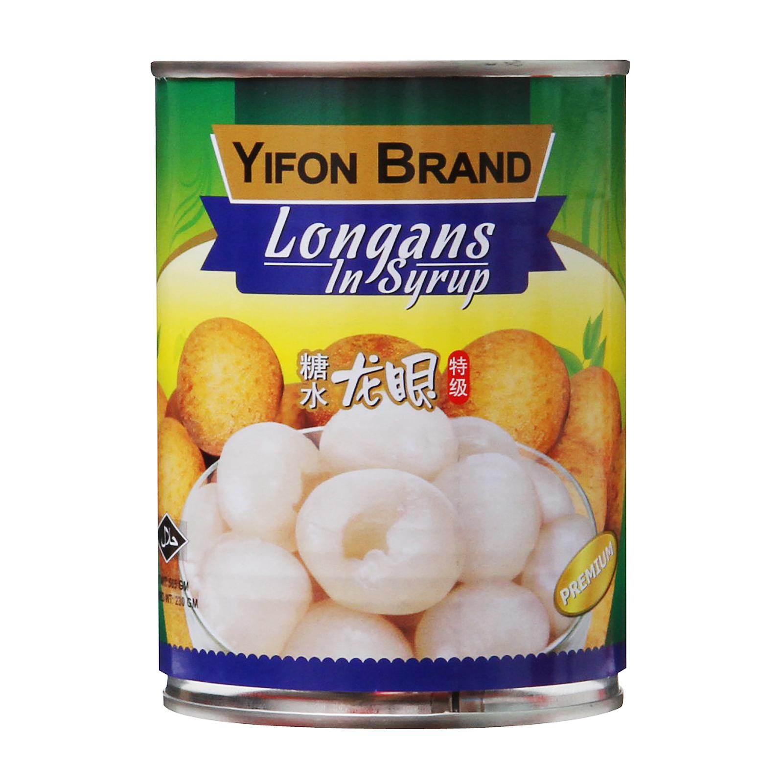Yifon Longans In Syrup By Redmart.