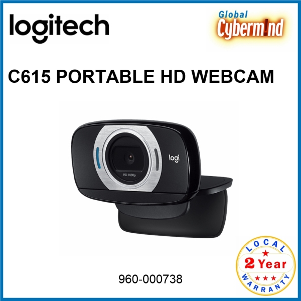 LOGITECH C615 PORTABLE HD WEBCAM [960-000738] ( Brought to you by Cybermind )
