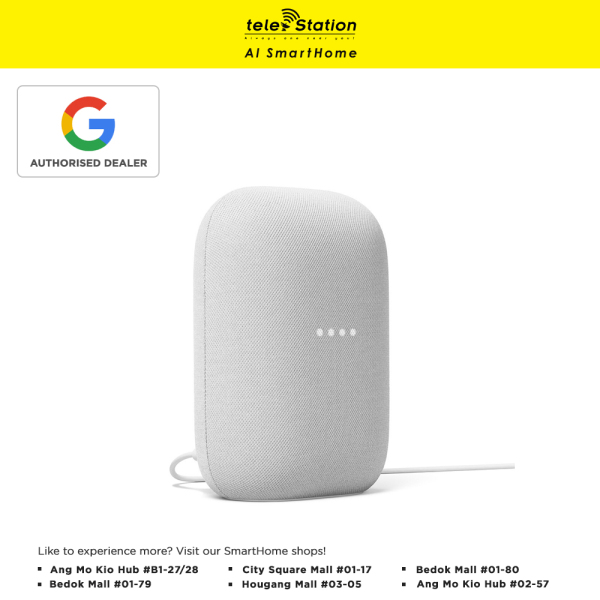 Google Nest Audio Smart Speaker (1 Year Local Warranty) Singapore