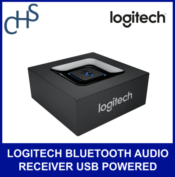 (Original) LOGITECH BLUETOOTH AUDIO RECEIVER USB POWERED (1Y) | Multipoint Bluetooth | 15 meter sight range | 1 year warranty Singapore