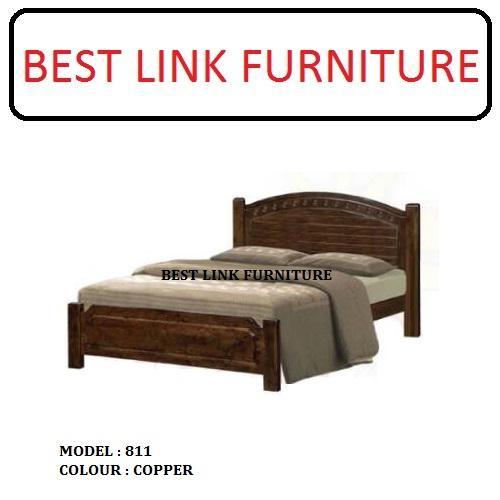 BEST LINK FURNITURE BLF 811 Solid Wooden Bedframe
