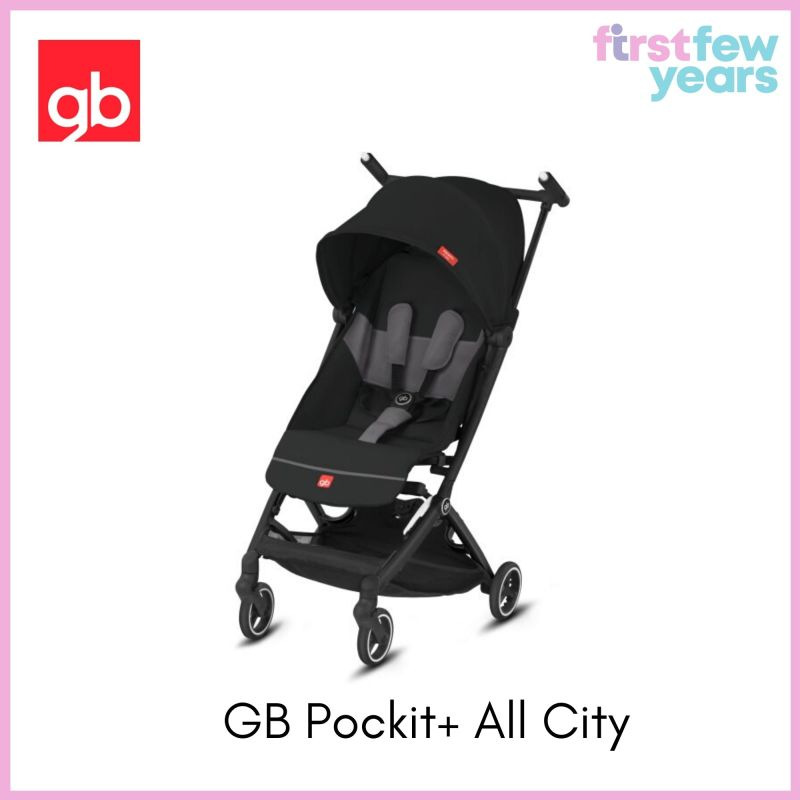 GB Pockit+ All City Stroller Singapore