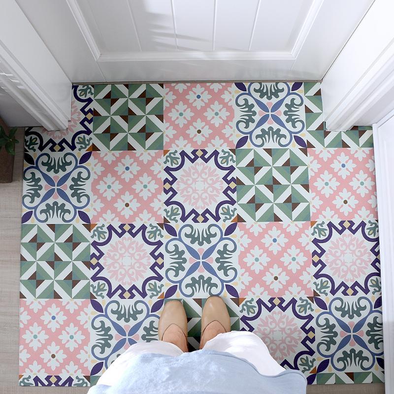 Can Scrubbing Mat Door Foyer Bedroom Carpet Mats Entrance Doors Mouth Doormat Beginner Waterproof Coaster Home