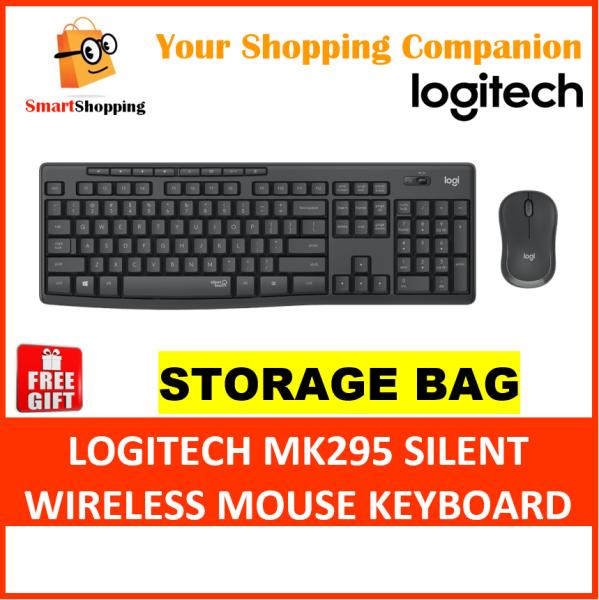 Logitech MK295 Silent Wireless Combo Comfort Compact Mouse Full Size Keyboard Win Chrome 2 Yrs Warranty 920-009814 Singapore