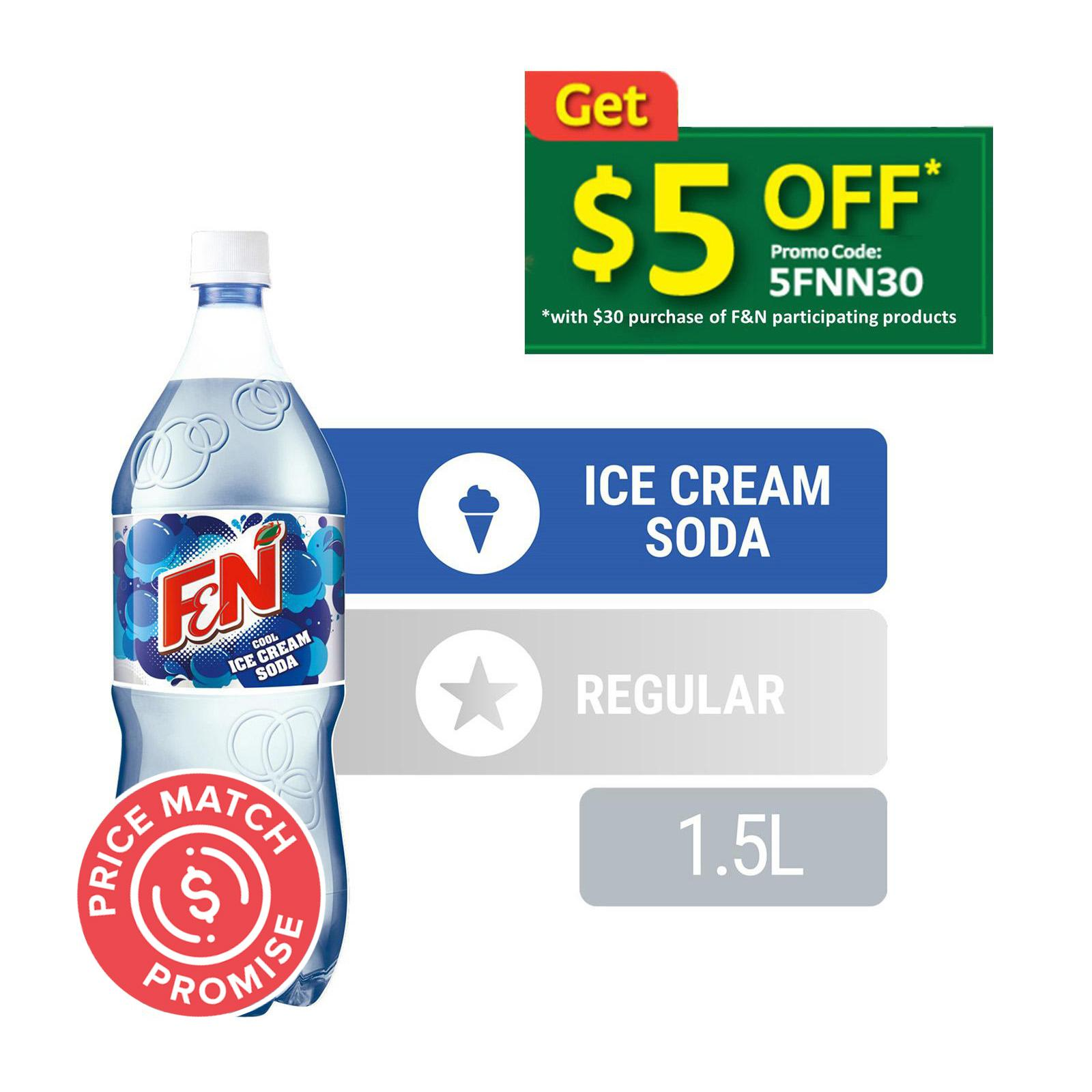 F&N Cool Ice Cream Soda Sparkling Flavoured Drink