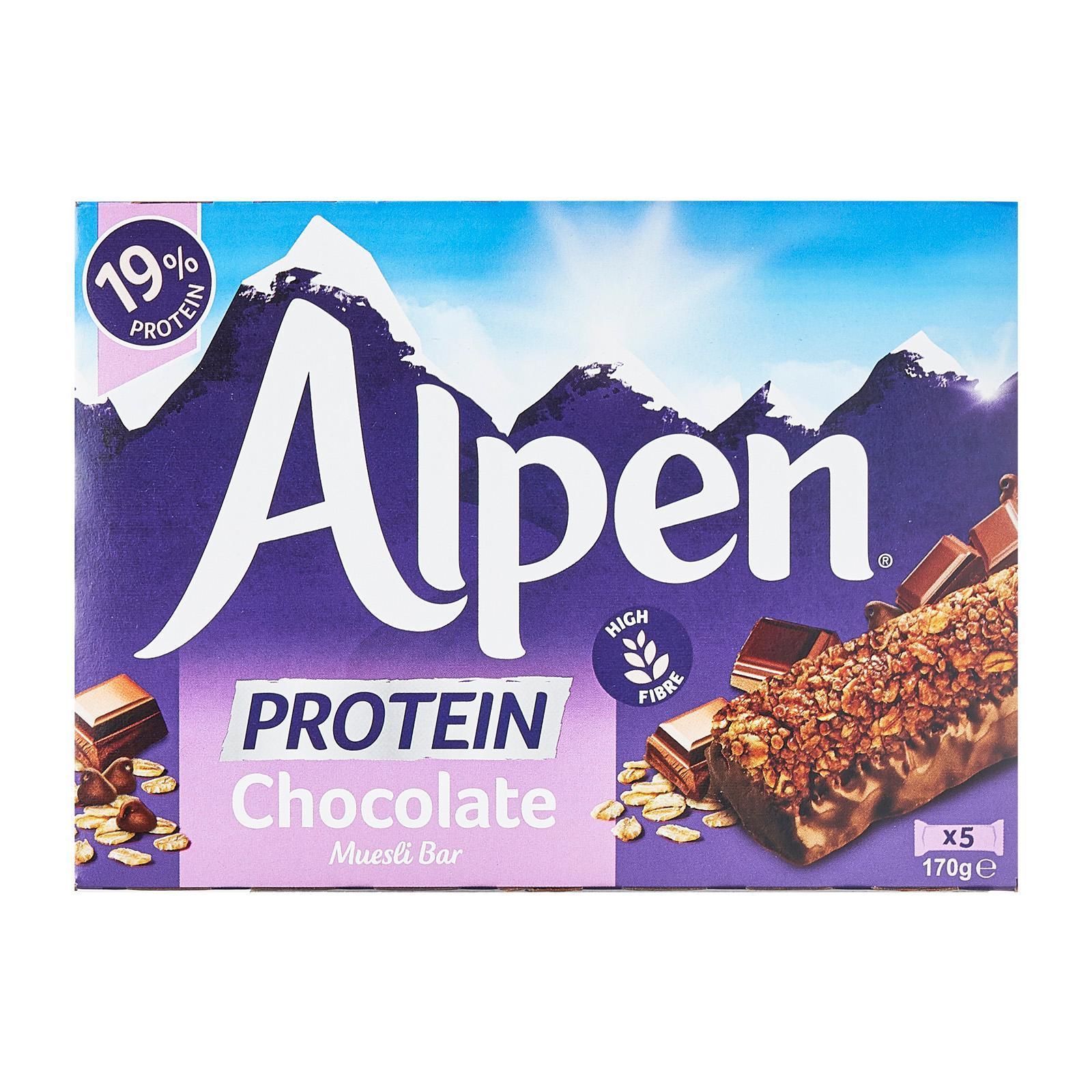 Alpen Chocolate Protein Bars