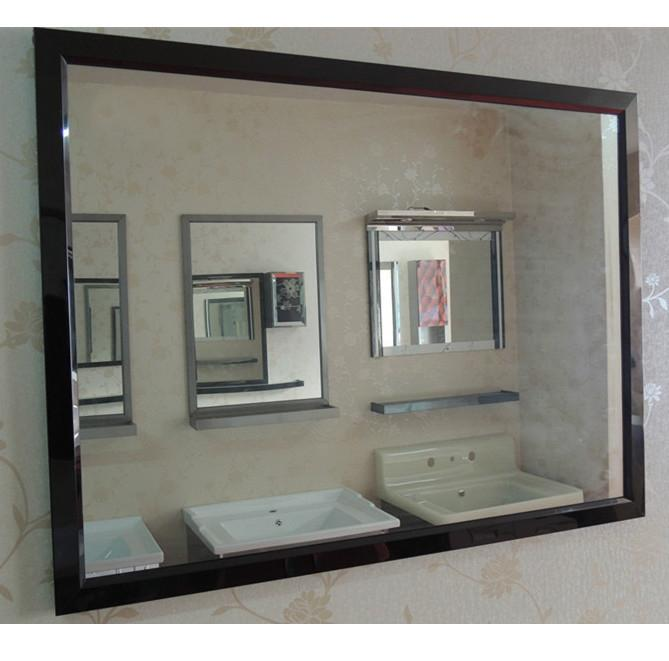 Mirror+ Shelf, Stainless Steel Frame By Wys House.