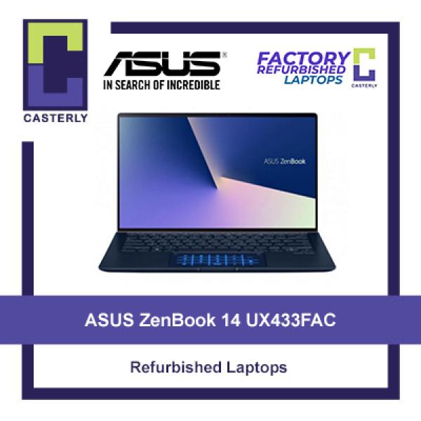 [Refurbished] ASUS ZenBook 14 UX433FAC / i5-10210U / 8GB Ram / 512GB SSD / Touchscreen / Windows 10