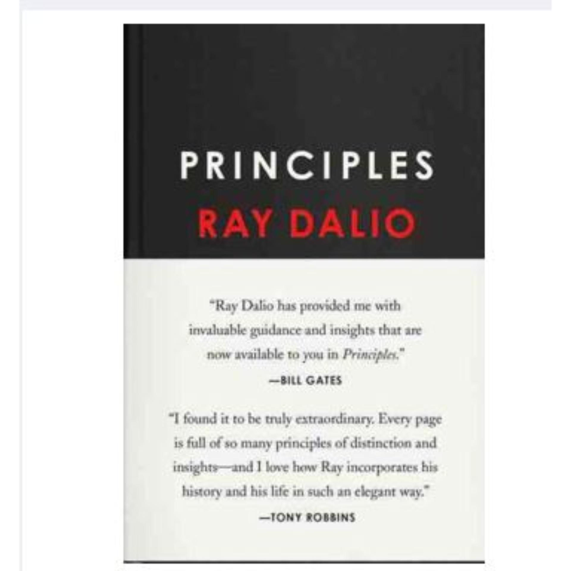 Principles Ray Dalio ebook