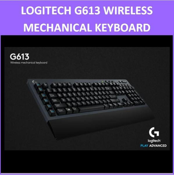 Logitech G613 Lightspeed Wireless Mechanical Gaming Keyboard G 613 920-008402 Singapore