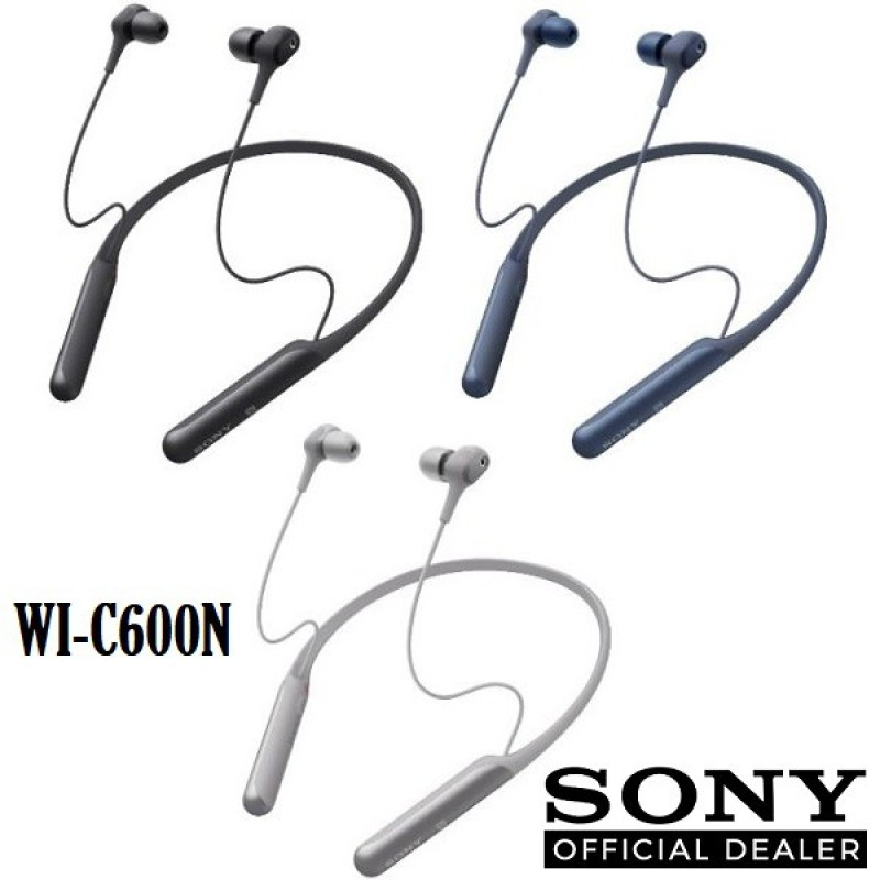 Sony WI-C600N Wireless Noise Cancelling In-Ear Headphones Singapore