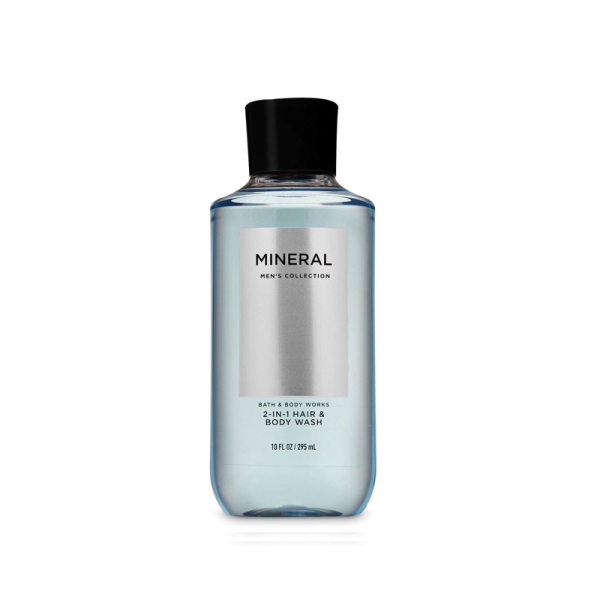 Buy Bath & Body Works : MENS COLLECTION : Mineral 2-in-1 Hair and Body Wash - 295ml - Bath and Bodyworks - BBW Singapore
