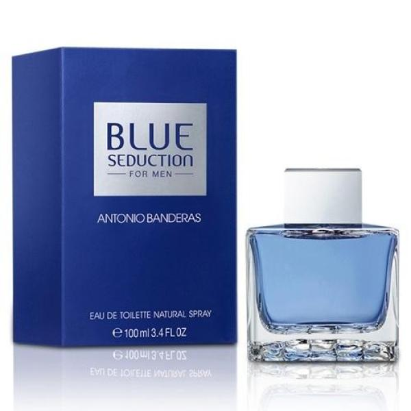 Buy Antonio Banderas Blue Seduction EDT for Men (100ml) Eau de Toilette AB Singapore