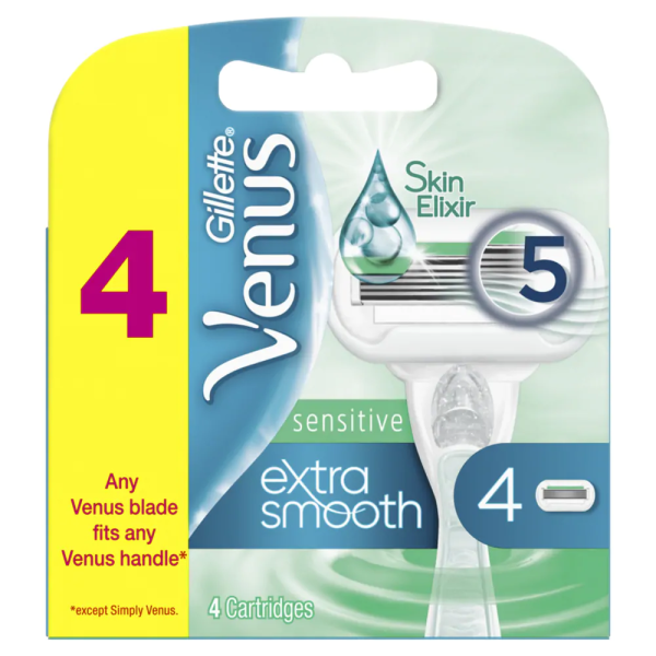 Buy GILLETTE VENUS Extra Smooth Sensitive Razor Cartridges 4s Singapore