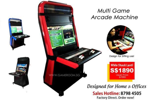 Vewlix Arcade Console Machine