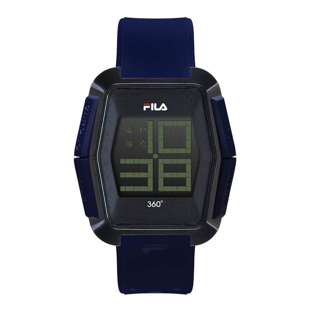 16ab75c06995 FILA CASUAL DIGITAL 38-102-002 PLASTIC BLACK UNISEX WATCH