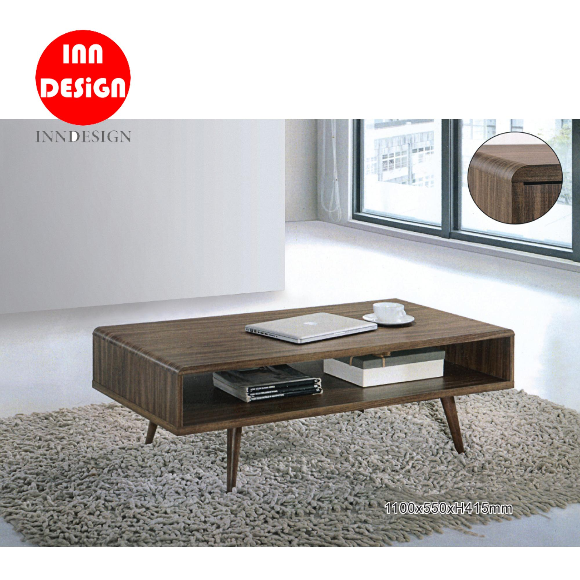 Jeie Coffee Table With Solid Wood Leg (Free Delivery and Installation)