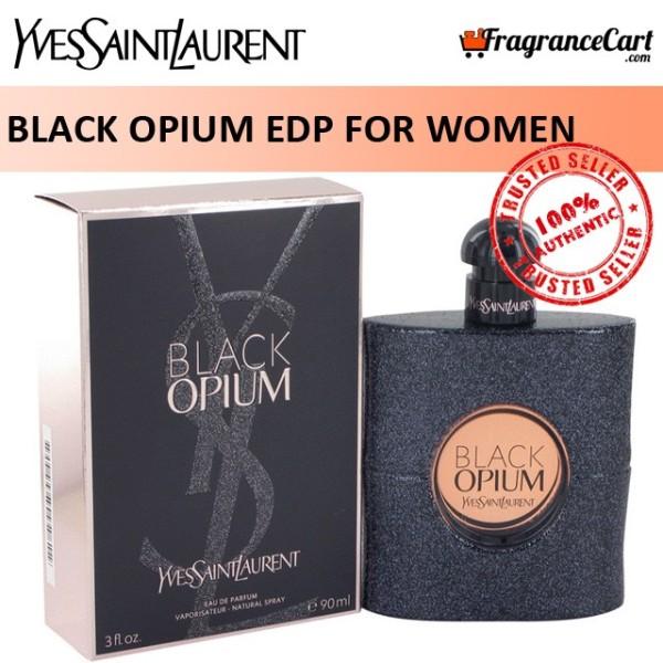 Buy YSL Black Opium EDP for Women (90ml) Yves Saint Laurent Eau de Parfum [Brand New 100% Authentic Perfume/Fragrance] Singapore