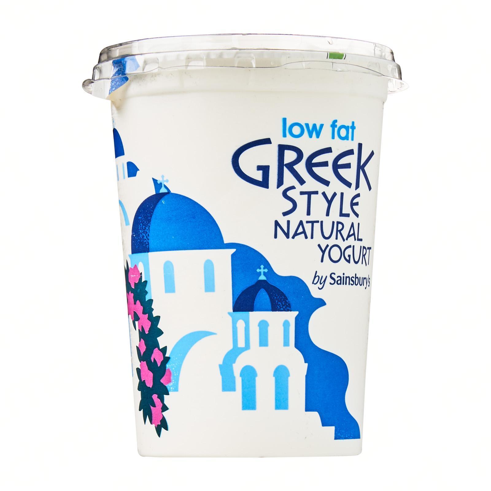 Sainsbury's Low Fat Greek Style Natural Yoghurt