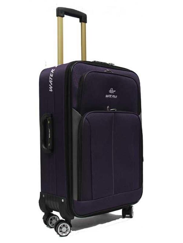 20 inch Economical Double Caster Expandable Softside Fabric Suitcase