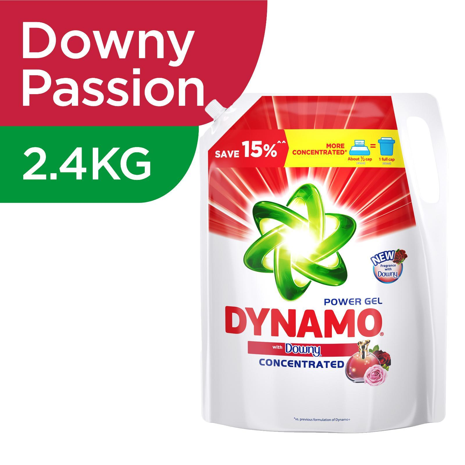 Dynamo Power Gel Freshness Of Downy Laundry Detergent Refill