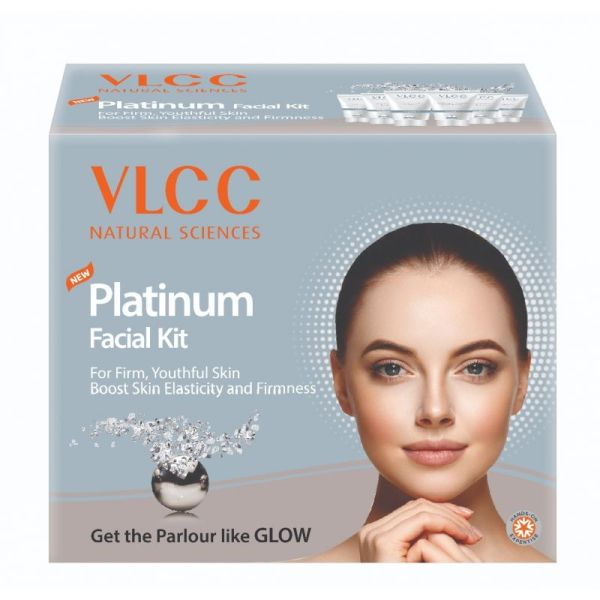 Buy VLCC Platinum Facial Kit, 60g For Firm, Youthful Skin Singapore