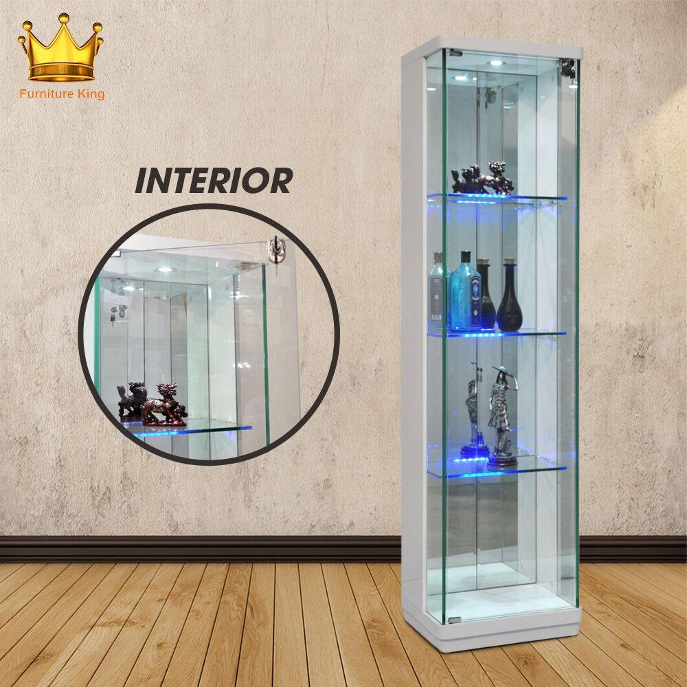 Harthorn Display Cabinet / Decoration Cabinet / Glass Cabinet/ Wine Cabinet/ Glass shelving