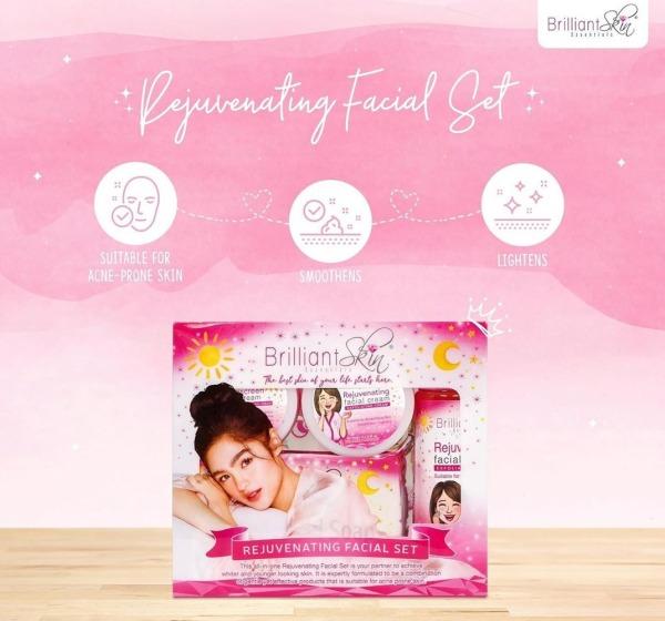 Buy Brilliant Facial Set ( 4 pieces ) with Box Singapore