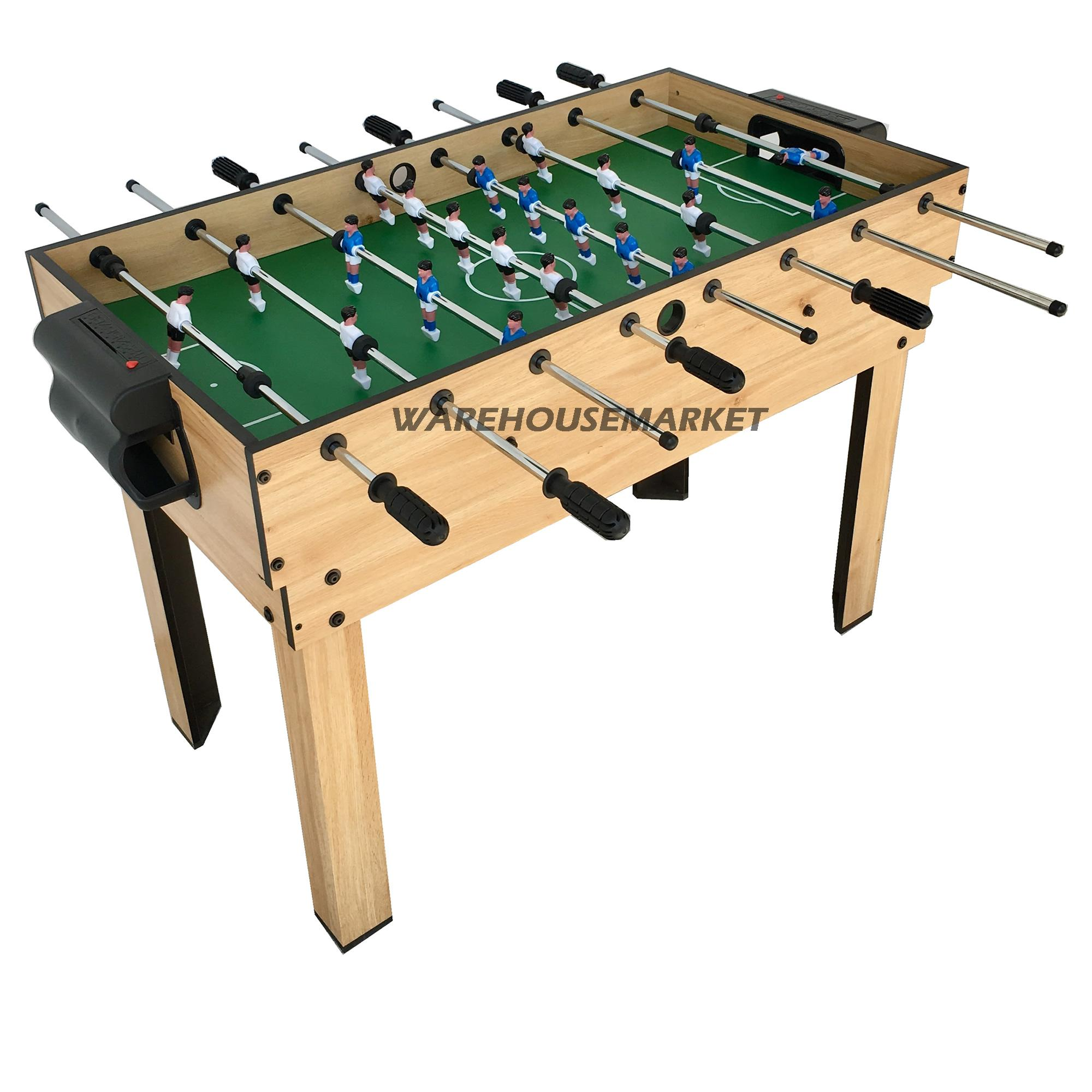 4ft Foosball Soccer Table (10 Game in 1)
