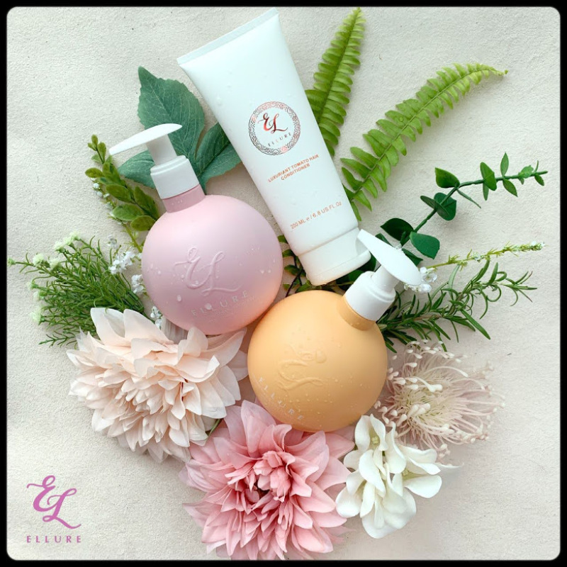 Buy Ellure Tomato Shampoo 400ML Hair Conditioner 200ML Showergel 400ML Singapore