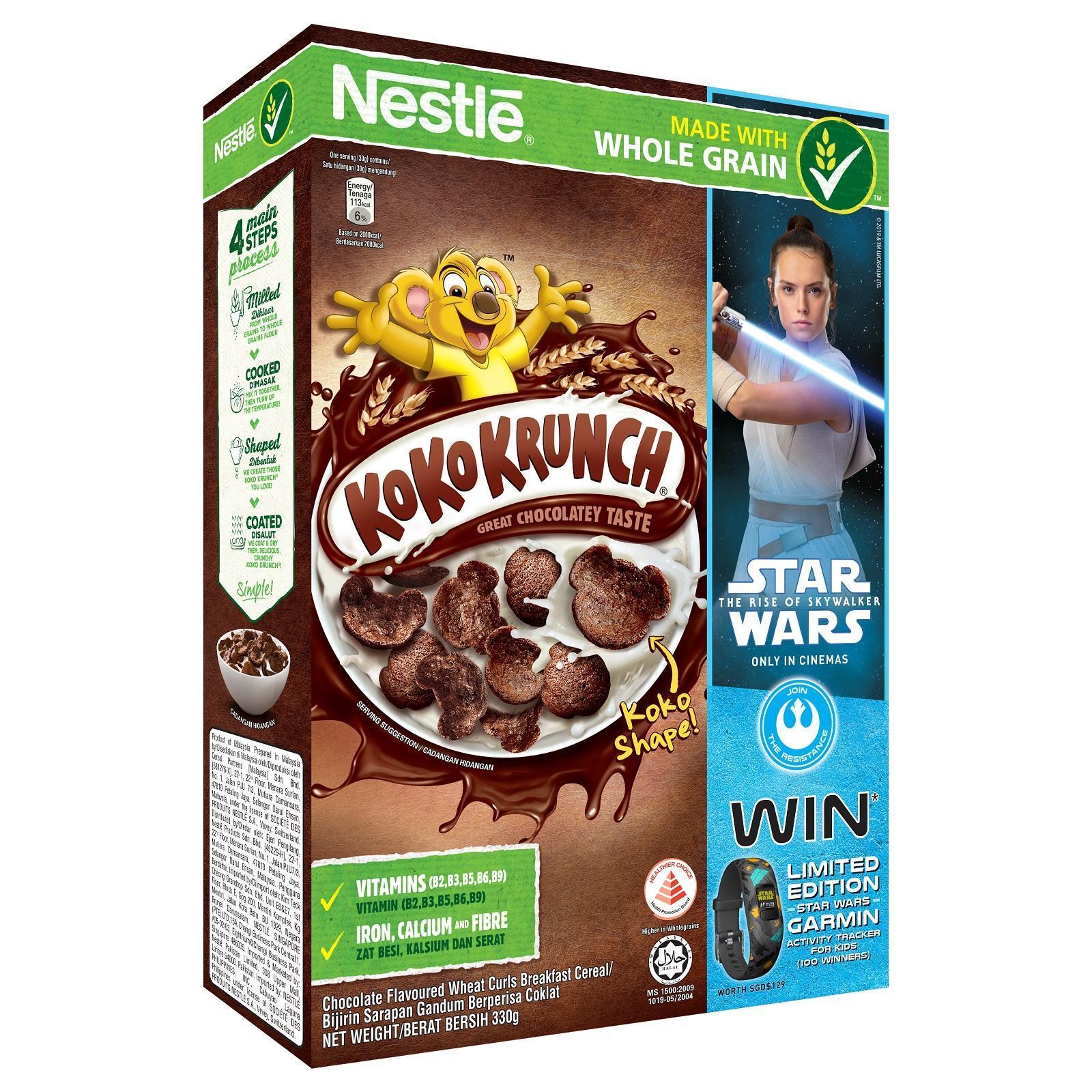 Nestle KoKo Krunch Cereal Star Wars Promo