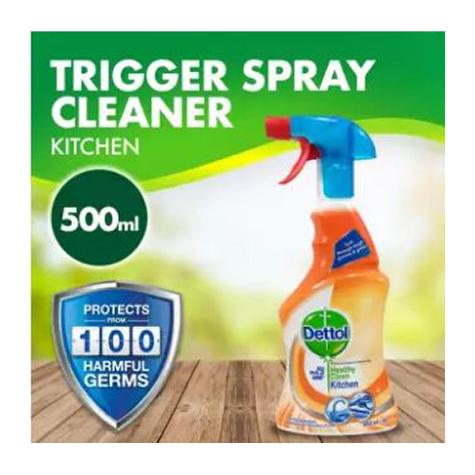 Dettol Kitchen Cleaner Trigger Spray 500ml
