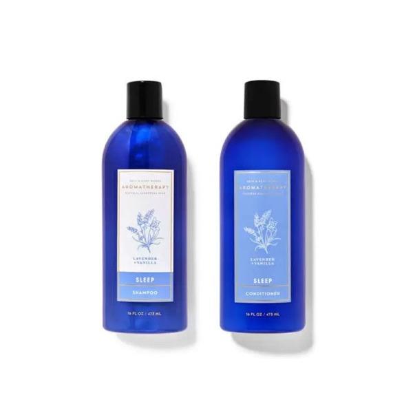 Buy Bath & Body Works : BUNDLE DEAL!!! Aromatherapy Sleep - Lavender Vanilla Shampoo and Conditioner - Bath and Bodyworks Singapore
