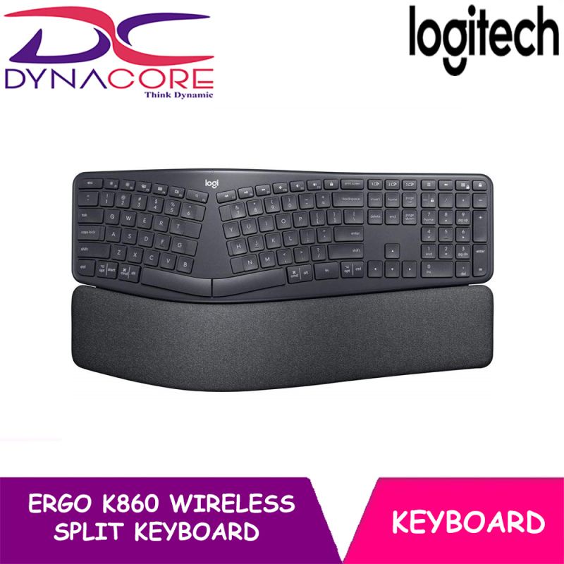 DYNACORE - Logitech Ergo K860 Wireless Split Keyboard Singapore