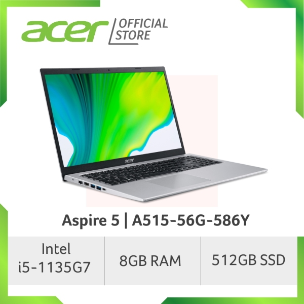 [NEW MODEL] Acer Aspire 5 A515-56G-586Y - 15.6 FHD Laptop with Latest 11th Gen i5-1135G7 Processor and NVIDIA MX350 Graphics