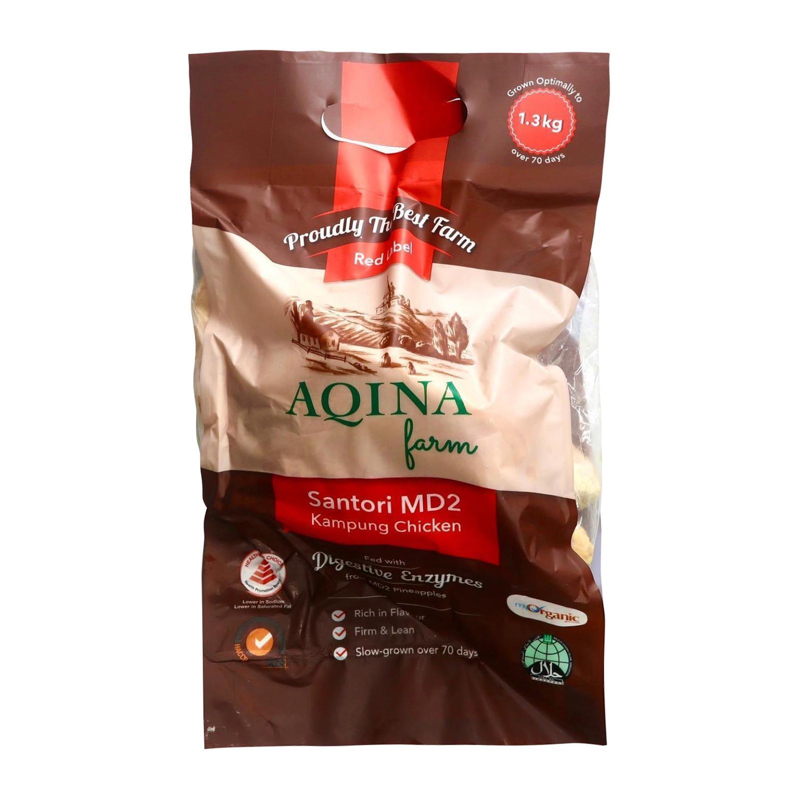 Master Grocer Fresh Organic MD2 Kampung Chicken Whole 1.3kg