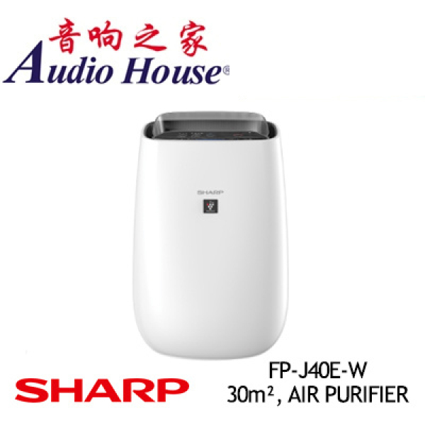 SHARP FP-J40E-W 30m² AIR PURIFIER ***1 YEAR SHARP WARRANTY*** Singapore