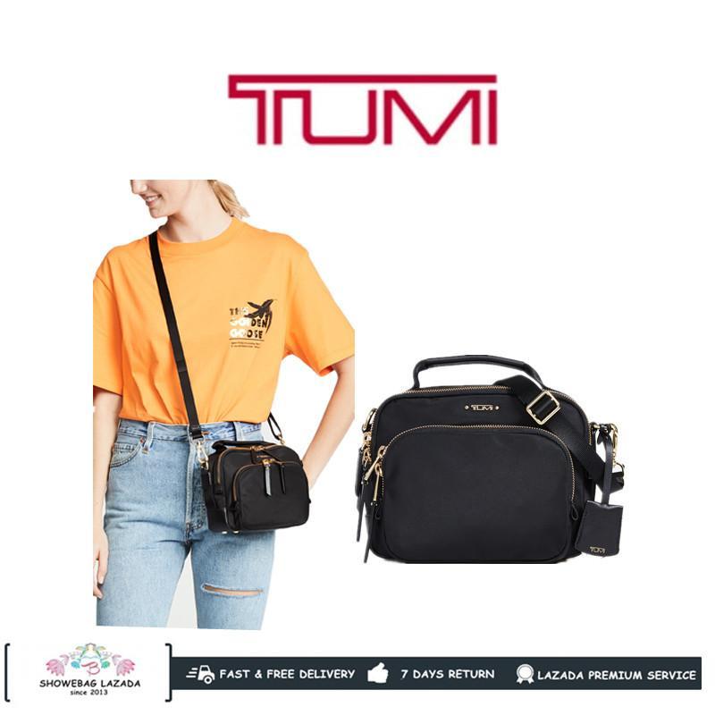 TUMI VOYAGEUR TROY LADY SLING BAG CROSS BODY BAG 0196308D NEW STYLE