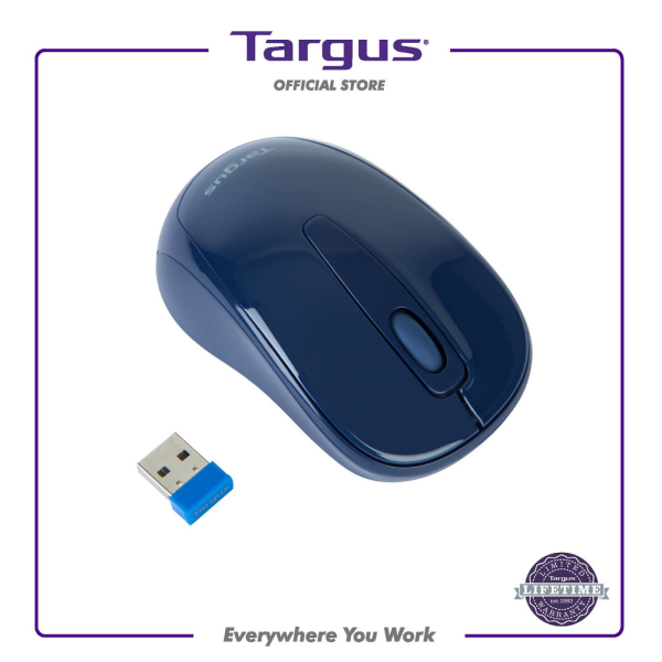 Targus W600 Wireless Optical Mouse, Black/Red/White