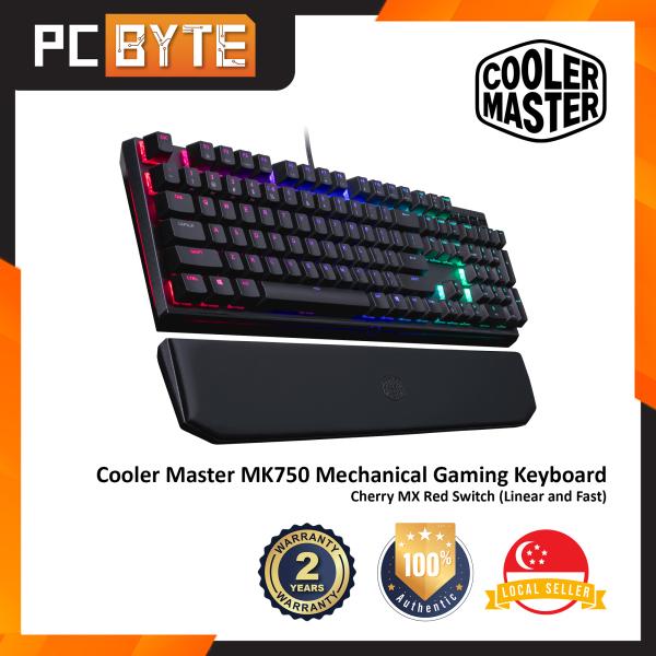 Cooler Master MasterKeys MK750 - Gaming Mechanical Keyboard (Cherry MX Switches, RGB Illumination) Singapore