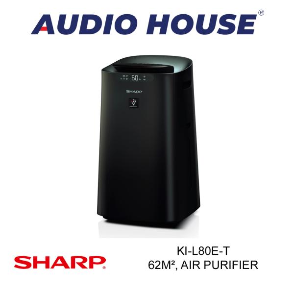 SHARP KI-L80E-T 62m² PLASMACLUSTER AIR PURIFIER W HUMIDIFYING FUNCTION ***1 YEAR SHARP WARRANTY*** Singapore