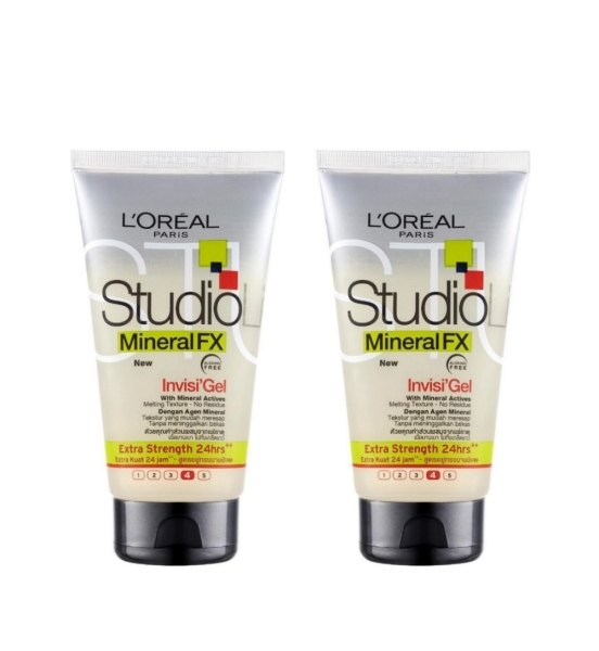 Buy (BUNDLE OF 2) LOREAL STUDIO MINERAL FX INVISI GEL (EXTRA STRENGTH) 150ML Singapore