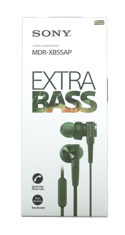 Sony MDR-XB55AP Extra Bass In Ear Headphones Singapore