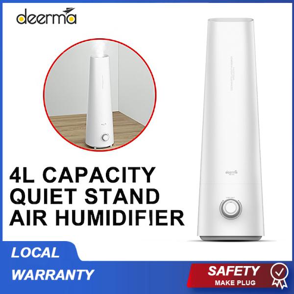 ★Local Warranty★ Xiaomi Deerma 4L Ultrasonic Household Humidifier Ultrasonic Aroma Diffuser Purifier SG Plug for Office Home add Aroma oil Singapore