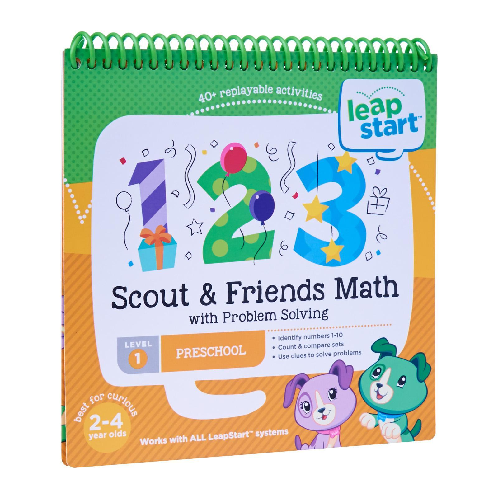 LeapFrog LeapStart Book - Scout And Friends Math With Problem Solving