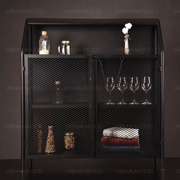 [PRE-ORDER] GARRICK Modern Industrial Metal Cabinet