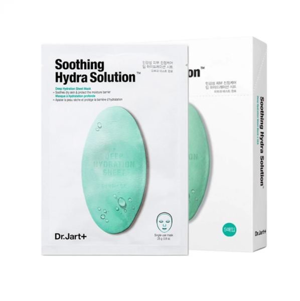 Buy Dr. Jart+ Dermask Water Jet Soothing Hydra Soluction Mask (5PC/BOX) 【100% Authentic】 Singapore