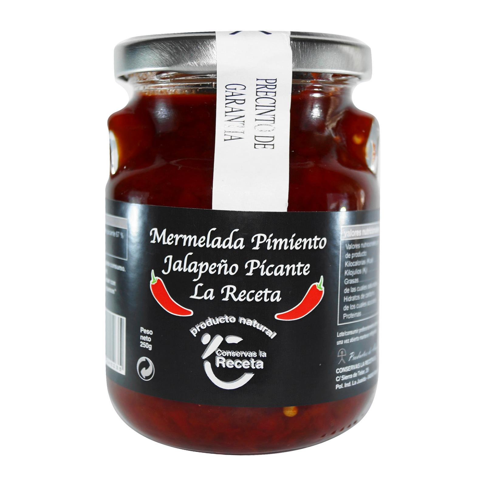 La Receta Spicy Jalapeno Peppers Jams