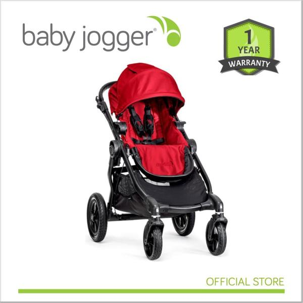 Baby Jogger City Select Red ( Black Frame ) / Black (Black Frame) Singapore