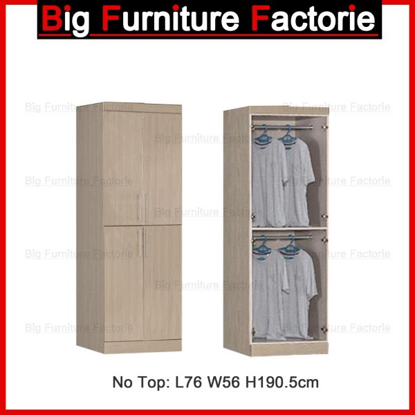 BFF-A5D Two Door Wardrobe no Top